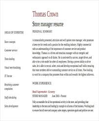 Retail Store Resume Examples by Business Resume Sample Free U0026 Premium Templates