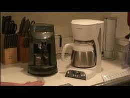 Using Household Electronics Using a Coffee Machine