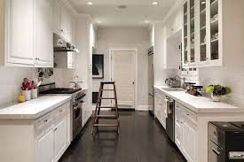 kitchen kitchen long narrow dark kitchen cabinets with light