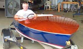 flying saucer classic power boat plans pic430a