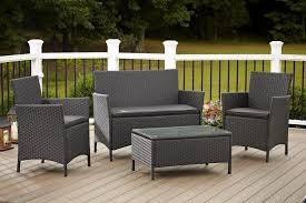 Small Patio Furniture Clearance Patio Small Patio Bench Woven Wicker Furniture High End Wicker