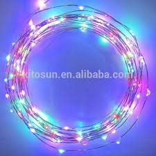 ultra thin wire led lights 10 pcs lot 5m 50leds copper string fairy lights battery operated