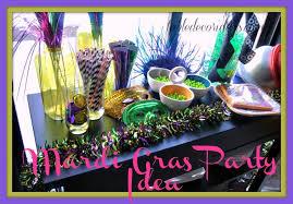 mardi gras ideas easy mardi gras party decor ideas