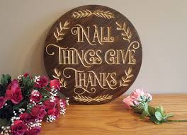Menards Address Plaques by Beautiful Engraved Wall Plaque To Remind Us To Give Thanks To All