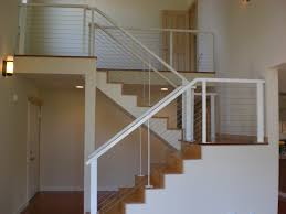 Diy Banister Diy Cool Cable Stair Railing Diy Design Decor Fancy With Cable