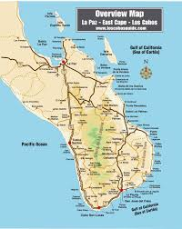 Map Of Baja California Cabo San Lucas Real Estate Homes Villas Condos And Lots In