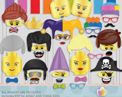 Photo Booth Props For Sale Lego Photo Booth Etsy