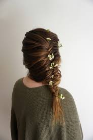 flower for hair flower child hair hairstyles