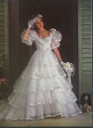 brides dec 1984 jan 1985 1980 u0027s wedding dress pinterest