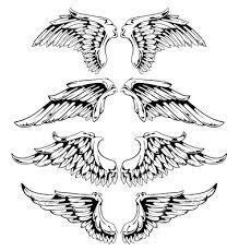wings for your vintage design free vector on vectorstock vectors