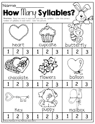 worksheet syllable worksheets kindergarten cvc2workbookworks koogra