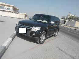 mitsubishi dubai accident free family used mitsubishi pajero in v g c for sale dubai