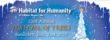 will moses christmas cards festival of trees habitat for humanity of greater moses lake