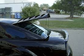 dodge charger louvers mrt 2005 2014 mustang rear window louver