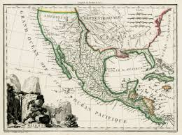 Map Of California And Mexico by Antique Prints Blog April 2012
