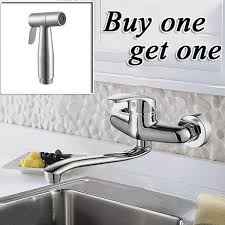 wall mount kitchen faucet single handle wall mounted kitchen faucet moen commercial single handle wall