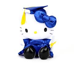 hello graduation hello 8 graduation plush sanrio