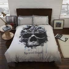 bedroom sugar skull duvet skull twin sheets sugar skull