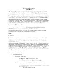 Resume References Format Example by Best Photos Of Sample Interview Essay Apa Style Interview Paper