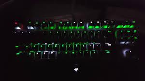 razer blackwidow chroma lights not working razer blackwidow x tournament edition chroma matrix lighting effect