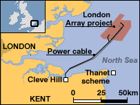 php array map content green light for s largest wind farm