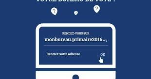 comment savoir dans quel bureau de vote on est inscrit comment trouver bureau de vote comment voter à la primaire de