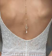 back drop necklace images Vintage pearl backdrop necklace amy o bridal jpg