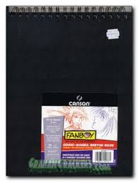product details canson fanboy comic manga sketch book