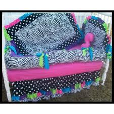 Pastel Crib Bedding Rainbow Pastel Colors Black White Polka Dots And Zebra Crib