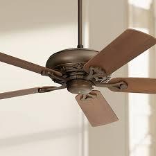 casa elite hugger fan 4 blade brown ceiling fans ls plus