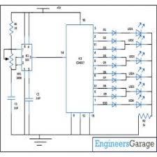 flashing led circuit diagram dancing led circuit