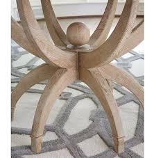 Round Dining Table Oak Atticus Coastal Beach White Oak Contemporary Round Dining Table