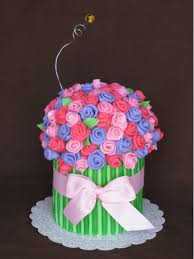 flower fondant cakes the flower bouquet sweet buttercream