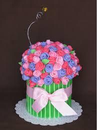 flower fondant cakes the flower bouquet sweet buttercream