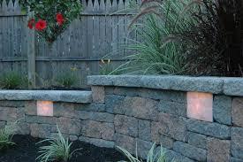 solar retaining wall lights wall light retaining wall lights underap image ideas tri north