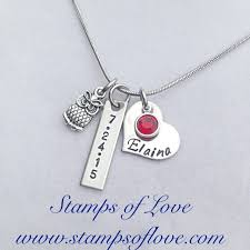 Personalized Family Necklace 30 Best Charm Necklaces Images On Pinterest Mother Necklace