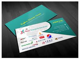 Nevada how to start a travel agency images Bold professional business card design for kgc travel n services jpg