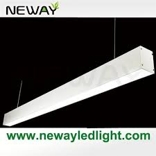 Linear Led Display Aluminum Profile Ceiling Pendant Lamp Fixture