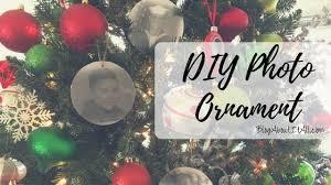 diy photo ornament club