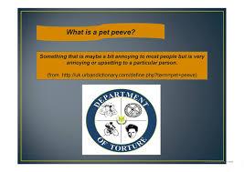 pet peeves worksheet free esl projectable worksheets made by