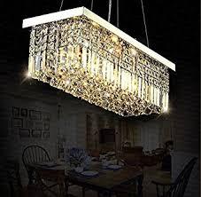 kitchen island chandelier lighting siljoy l40 x w10 rectangle modern chandelier lighting