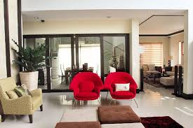 the den at dining in manny pacquiao s modern contemporary house in general santos