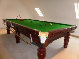 Rare 10ft Karnehm Hillman Snooker Table Sold After Just A Few