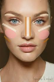 best 25 where to contour ideas on pinterest easy contouring