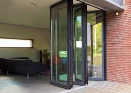 Patio Doors Folding Folding Patio Doors Reynaers At Home
