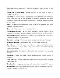 resume key terms key terms or jargon