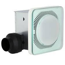 Modern Bathroom Exhaust Fan by Interesting Bathroom Exhaust Fan With Led Light Whisper Green