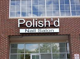 polish u0027d nail salon elkridge md dms sign connection inc