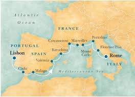 Monte Carlo Map Mediterranean Odyssey U2013 Cruises U2013 Voyages To Antiquity