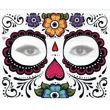 mardi gras skull mask 1 3 5 sheets day of the dead dia de los muertos mask sugar